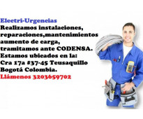 Electricista,san luis,El nogal,Belalcazar,El virrey, pablo VI, siete de Agosto,l...