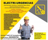Electricista,Teusaquillo,Palermo,Park way, La esmeralda, Nicolas de Federman,Cha...
