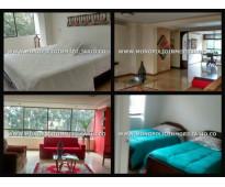 apartamento amoblado para la renta en medellin sector viscaya en el poblado cd 4...