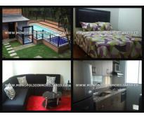 apartamento amoblado en medellin sector manila  poblado cd 4236