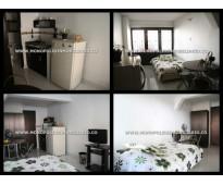 apartamento tipo loft amoblado en medellin florida nueva  cd 4204