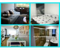 rento apartamento amoblado en el poblado cód. 3000