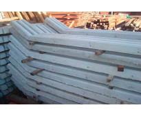 Fabricación de postes en concreto