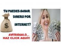 Ofrezco empleo por Internet bien pagado!