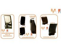 Venta y mantenimiento de espaldar y asiento de sillas en polipropileno