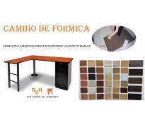 Mantenimiento de despacho (escritorio) y sillas de oficina