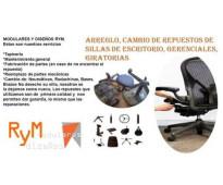 Saneamiento y Distribución  de toda clase de sillas