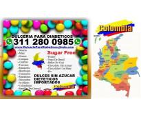 ⭐ Dulces, Con, Sin Azúcar, Sugar Free, Dietéticos, Para Diabeticos, Bogota, Cali...