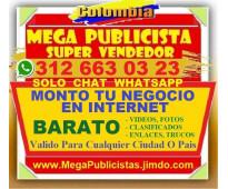 ⭐ BARATO= Mega Publicista, Agencia, Publicidad, Posicionamiento, Paginas Web, Ve...