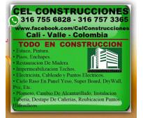 ⭐ CALI, Maestro Construccion, Electricista, Plomero, Enchapador, Pintor, Albañil...