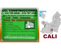 ⭐ CEL CONSTRUCCIONES CALI, Maestro De Obra, Albañil, Plomero, Electricista, Ench...
