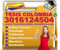 ⭐ Proyectos De Grado, TESIS, Monografias, PostGrado, Correccion, Cali, Bogota, M...