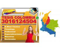 ⭐ Proyectos De Grado, TESIS, Monografias, Bogota, Medellin, Cali, Barranquilla,...