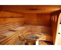 elaboracion de saunas