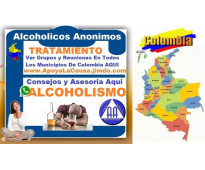 ⭐ AA. Alcoholicos Anonimos, Alcoholismo, Tratamiento, Grupos, Reuniones, Psicolo...