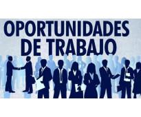 GRAN OPORTUNIDAD DE TRABAJO PARA ESTUDIANTES