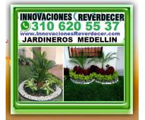 ⭐ JARDINEROS MEDELLIN, Vivero, Paisajismo, Diseño Jardines, Jardineria, Silletas...