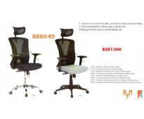 Cambio de ruedas para sillas gerenciales