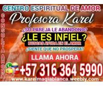 PROFESORA KAREL FAMOSA VIDENTE LE GARANTIZO RESULTADOS EN 3 DIAS 3163645990
