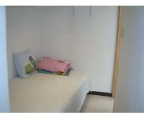 Habitación para persona sola en arriendo zona Norte Bogotá