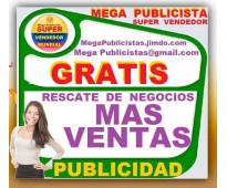 ⭐ GRATIS, Mega Publicidad, Agencia, Publicista, Posicionamiento, Vendedor,  Merc...