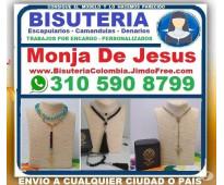 ⭐ Bisuteria Colombia, Monja De Jesus, Camandulas, Rosarios, Denarios, Escapulari...