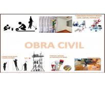Reparacion y obras civiles para oficinas y apto.