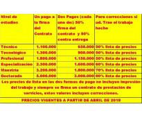 SE REALIZA LA GESTIÓN DE PROYECTOS & TESIS (CON MAS DE 20 AÑOS DE EXPERIENCIA) a...