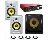 KRK - Rokit RP-6 G3 - Active Studio Monitor Set (White)