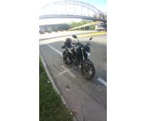 Se vende moto FZ250 Modelo  2019 color Negro