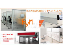 Instalacion, suministro, todo para oficinas abiertas