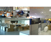 Trasteos de modulares para oficinas.