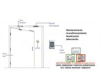 Instalacion y Re- ubicación de puertas para oficinas