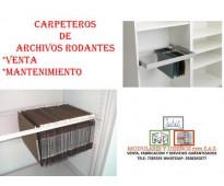 CAMBIO DE CADENA DE ARCHIVOS RODANTES