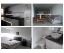 APARTAMENTO AMOBLADO EN ALQUILER - ENVIGADO COD: 14867 Amplio apartamento amobla...