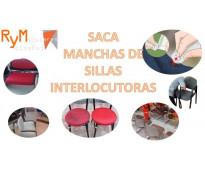 Saca manchas de sillas interlocutoras