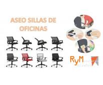 Aseo de sillas de oficina