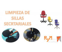 Limpieza de sillas secretariales