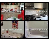 alquiler de apartamento amoblado en laureles cod. 1178