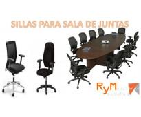 Suministro de sillas para salas de juntas