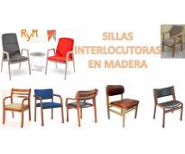 Mantenimiento de sillas en madera y polipropileno