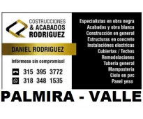 ⭐ CONSTRUCCION, Maestro De Obra, Albañil, Plomero, Electricista, Estructuras, Ci...