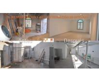 Remodelación y re configuración de oficinas