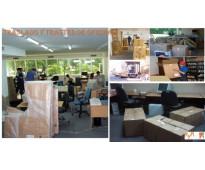 Traslado y trasteo de oficinas