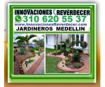 ⭐ JARDINEROS MEDELLIN, Paisajismo, Diseño Jardines, Jardineria, Sistemas De Rieg...