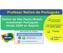 Profesor de portugués Nativo de Brasil