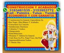 ⭐ Albañil Cali, Maestro De Obra, Plomero, Electricista, Pintor, Enchapador, Ciel...