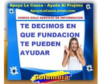 ⭐ GRATIS, Apoya La Causa, Ayuda Al Projimo, Fundacion, Fundaciones, Psicologos,...