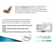 ALARMA COMUNITARIA GSM