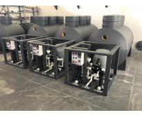 Fabricación de plantas de tratamiento de aguas residuales